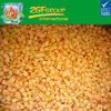 Frozen IQF Diced Apricot with Skin, Chinese Chuanzhihong Variety
