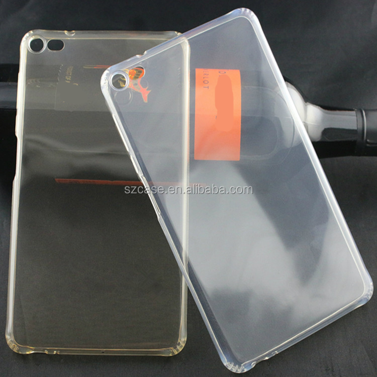 High Clear Transparent TPU Back Cover Case for Huawei M2 PLE-703L