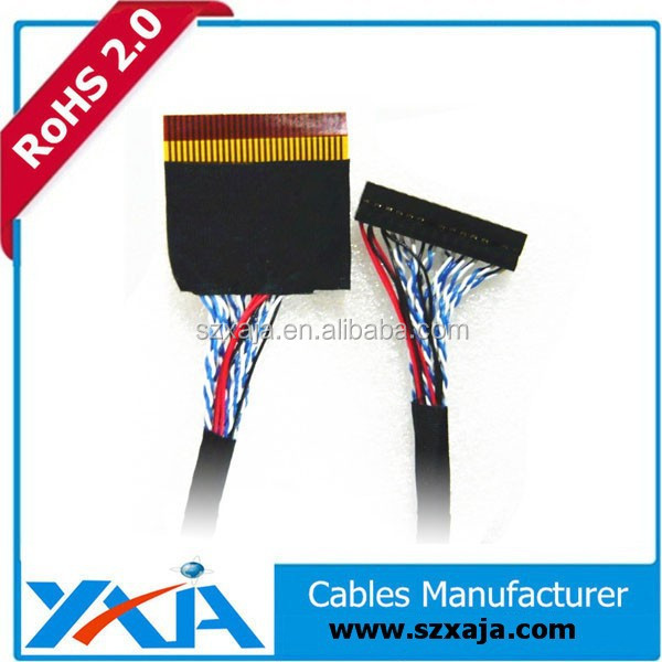 lvds led cable for laptop led screen hdmi to lvds cable