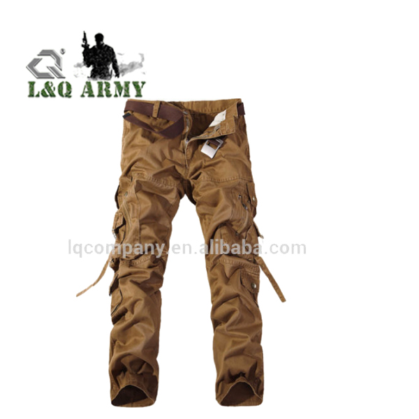 Men's Cotton Casual Military Army Pants