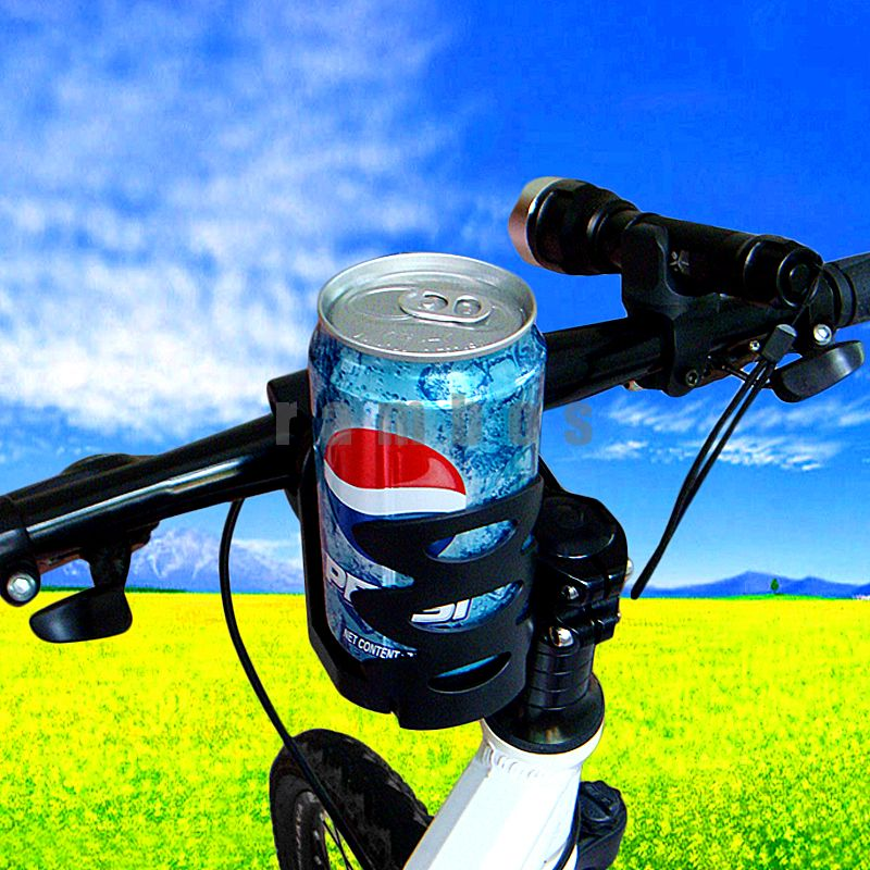 High-strength Bicycle Handlebar Mountain Cycling Bike Holder for Bottle/ Plastic Water Cage any cup/ can