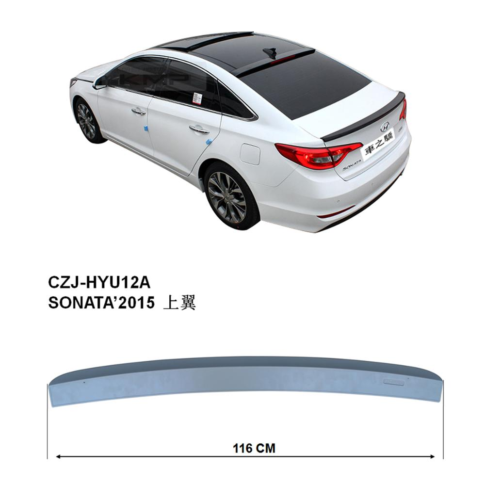 ABS ROOF SPOILER FOR SONATA 2015