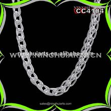 wholesale bar design necklace marble jewelry made in China