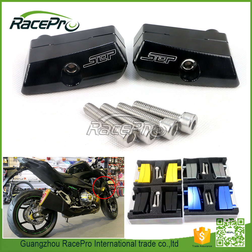 CNC Aluminum Motorcycle Frame Sliders Crash Protector for Kawasaki Z800