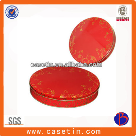 metal tin container/wholesale tin container/large tin container