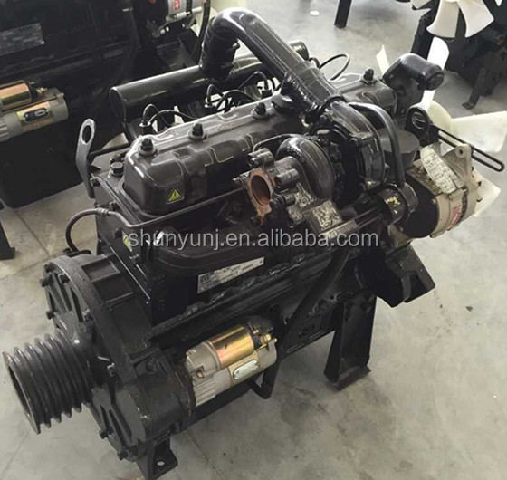 JIANGDONG Marine boats used diesel engine connect to transmission 4JD80