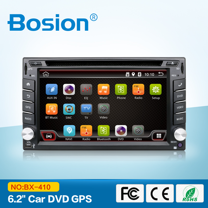 Universal Double Din Car GPS sat nav Radio 6.2'' DVD Player Navigation Bluetooth for audi A81