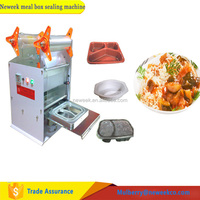 Neweek table keep freshness manual fast food box vacuum sealing machine