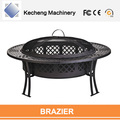 Garden big size Iron Surface Treatment Charcoal Fire Pit Outdoor Brazier