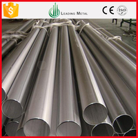 Warehouse construction materials SUS 439 stainless steel pipe 304 stainless steel pipe