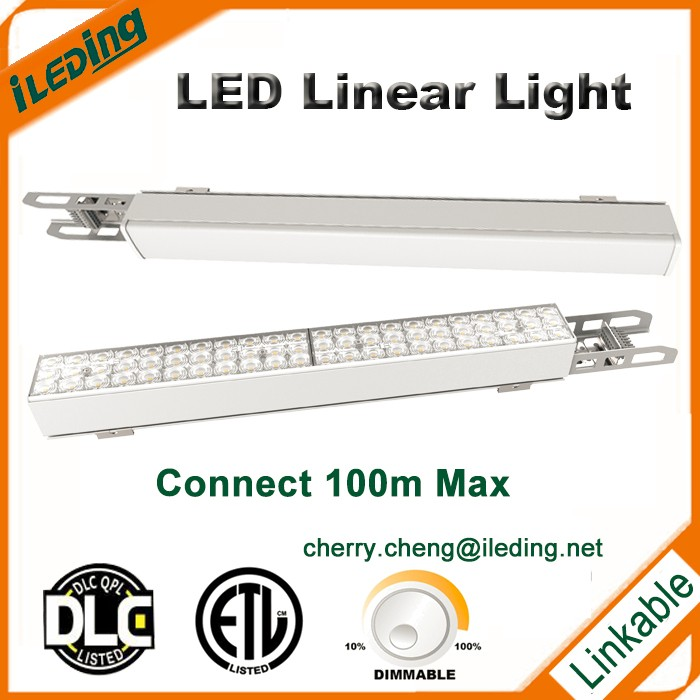 4ft, 6ft led linear light fixture with ETL, DLC Cert