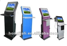 2012 Most Attractive Touch Monitor Kiosk With Keyboard And Telephone Line