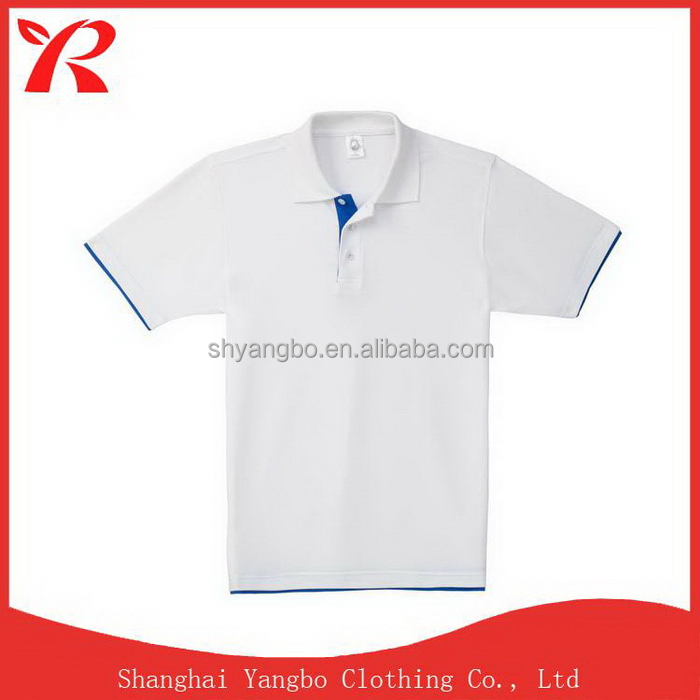 Printing logo Low price high technology polo shirt in men`s t-shirt