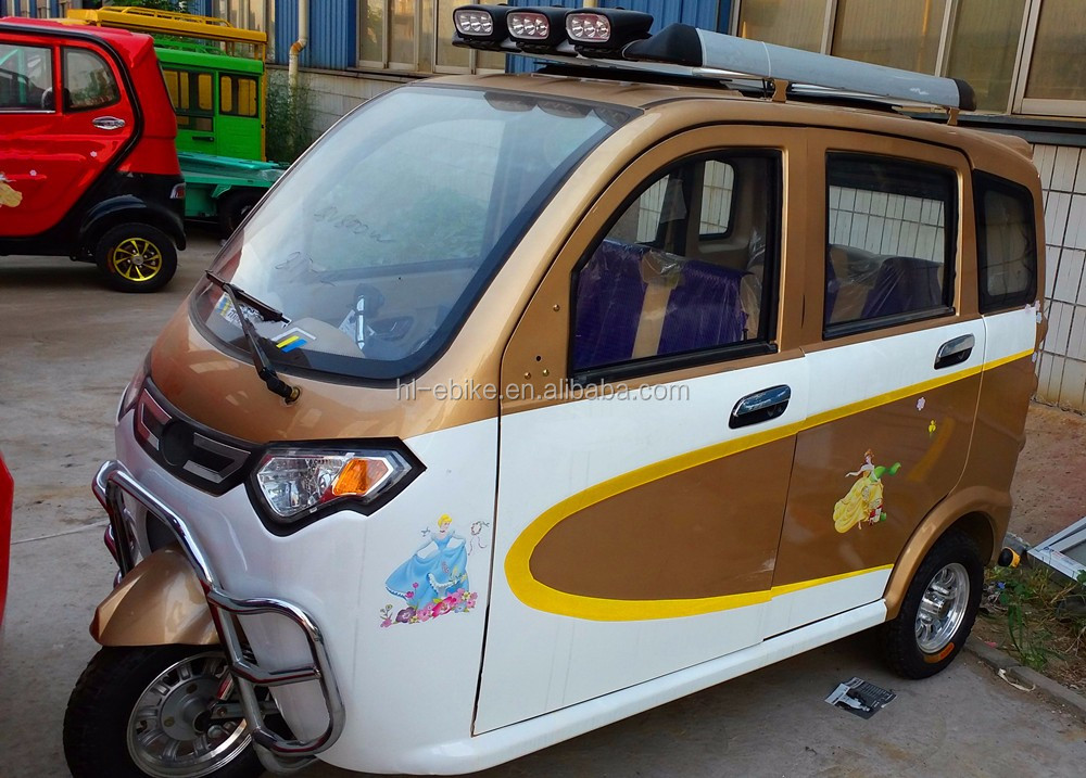 New model of the fully enclosed luxury electric tricycles/cyclomotor/motorcycles 2100003