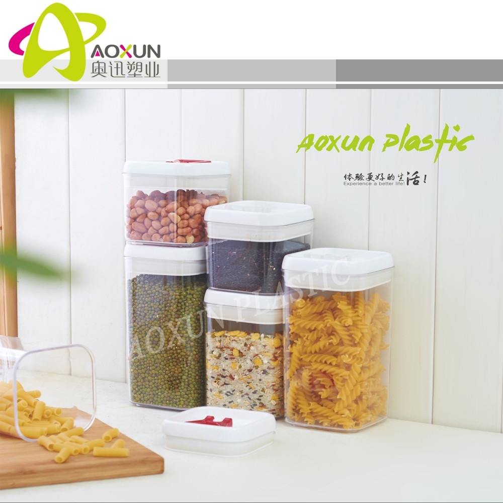 Dry Food 3Pcs Vacuum Box Storage Fridge Container
