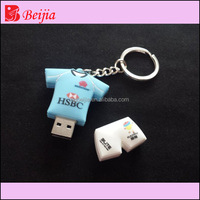 Supper custom soft pvc 3d silicone usb cover 128MB usb flash drive