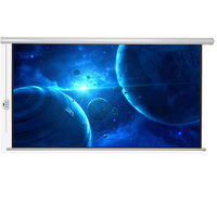 16:9 Motorized Projection Screen Cinema Equipment