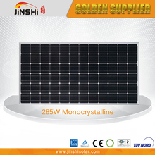 2016 Hot Selling 285w Monocrystalline Best Price Solar Cells