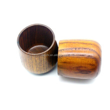 Japanese Style Nature Wooden Tea Cup Eco-Friendly Wood Cups Coffee Cup