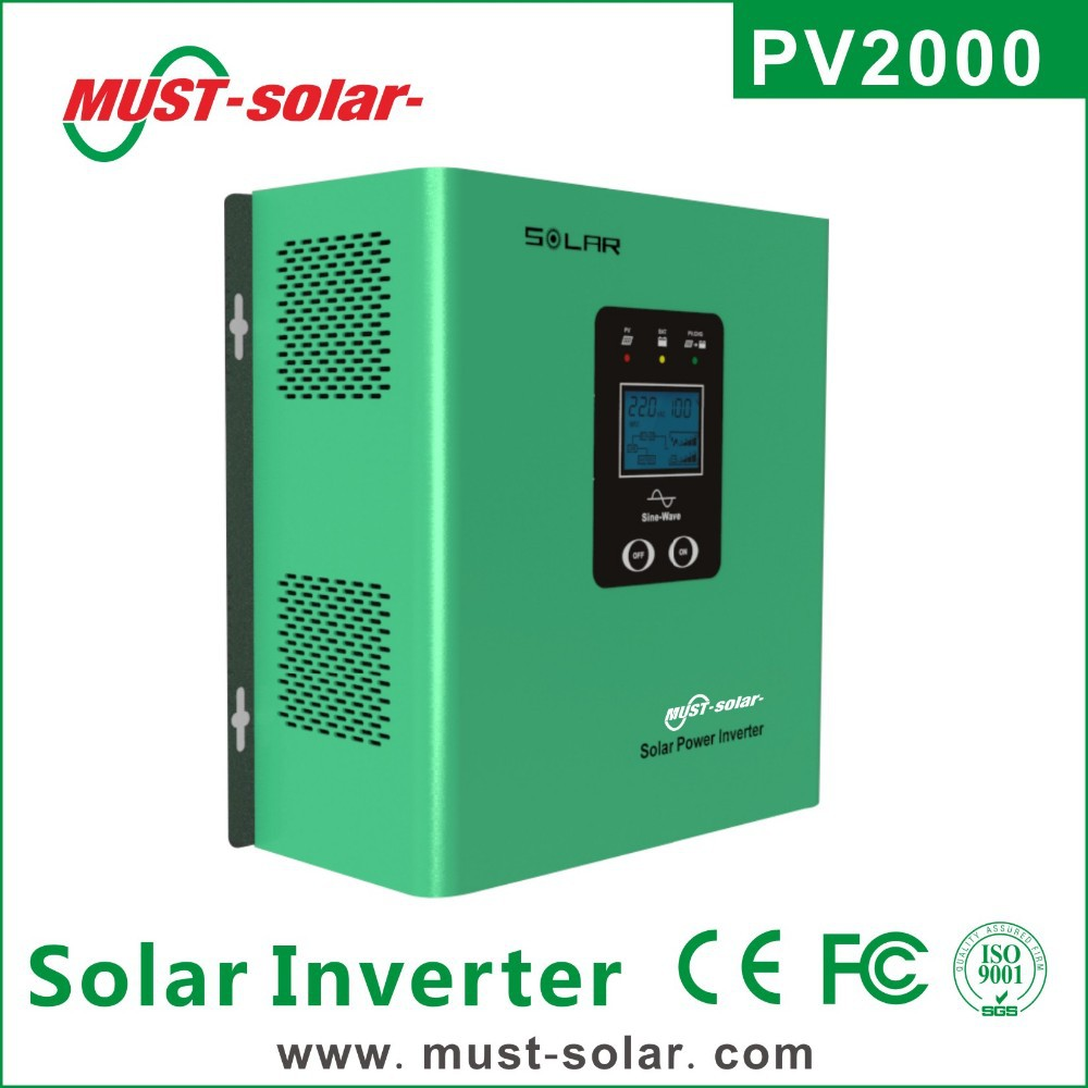 <Must Solar> 2014 NEW design PV2000 series low frequency pure sine wave 300w 12v solar energy power inverter