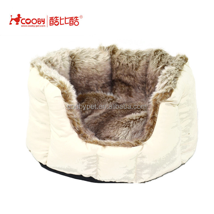 New style popular winter round pet bed cave for cats and small dogs