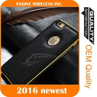 2016 Luxury case Wholesale mobile phone shell leather case for iphone 5c , for iphone 5c case