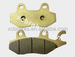 Quality motorcycle&atv accessories sintered brake pad FA197 for HONDA