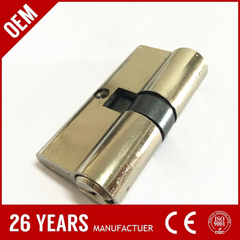 china cheapest brass double side key electromagnetic door lock with OEM