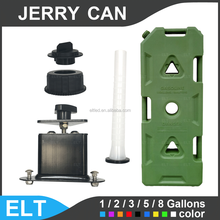 Spare Offroad Jeep Gas Fuel Can For ATV UTV Mount Bike