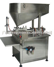Semi-automatic single head ointment/sauce filling machine
