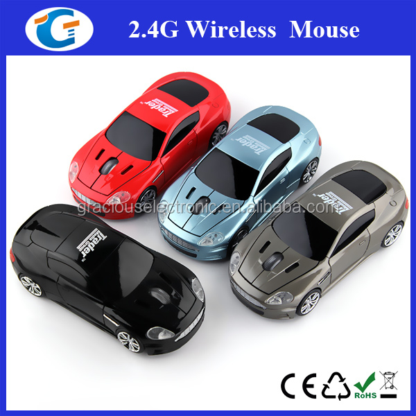 Personalized Car Shaped Promotional Wireless Mouse