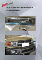 HOT SALE HIGH QUALITY 2010 TOYOTA LAND CRUISER PICK UP FRONT GUARD BOARD,LC PICK UP LC70 BUMPER GUARD