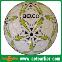 Top quality PU leather match or training soccer ball football