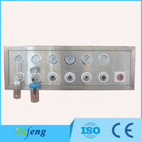 Medical gas control box supply different gases in hospital