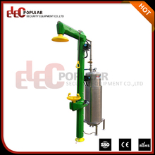 Elecpopular Wenzhou Factory Cable Heated Emergency Explosion Proof Freeze Resistant Eyewash And Shower