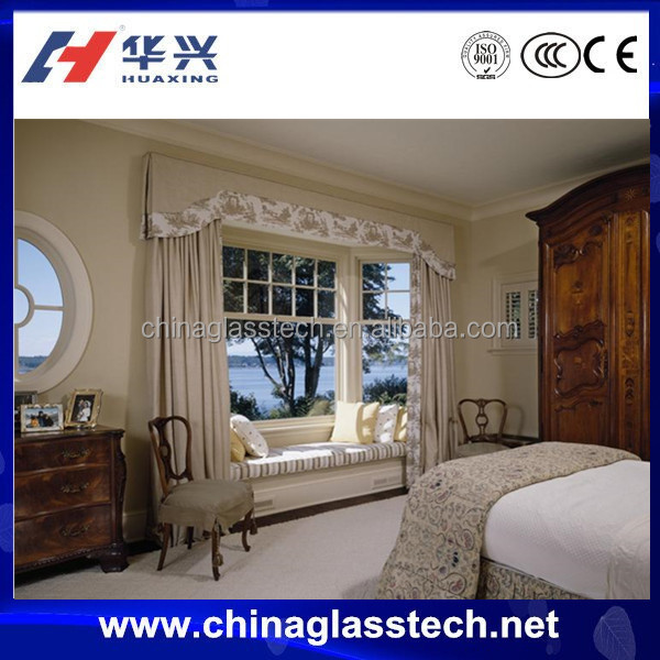 CE/CCC/ISO anti-aging aluminum single pane sliding windows