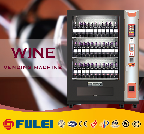 whole bottle wine refrigerated vending machine