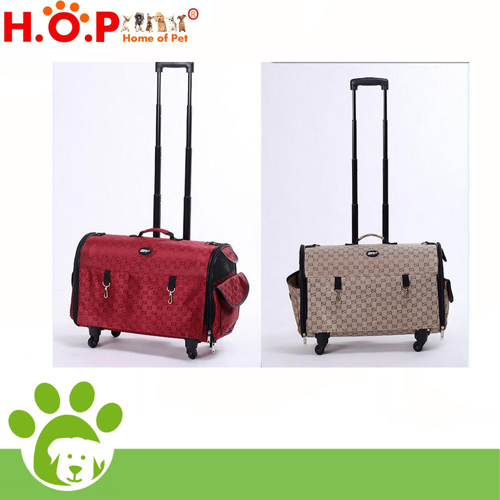 Pet Trolley Bag, Dog carrier Bag with wheels