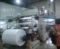 The latest JM-1000mm PLC control plastic film dry laminating Machine