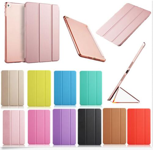 "OEM Customized Universal Slim Leather Case Smart Cover Stand For Apple <strong>iPad</strong> Pro 9.7"" Colorful"