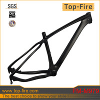 2014 Newest 12x142 thru-axle 29er carbon mountain bike frame post mounted disc brake hardtail for sale