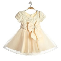 baby frock designs 2014 hot sale lace girls frocks design dresses wedding party dress for baby girls