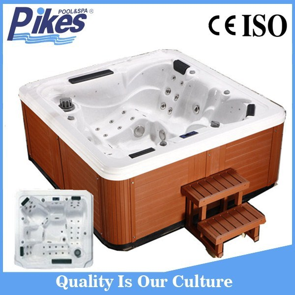 Freestanding Installation Type and Corner Drain Location mini whirlpool bathtub