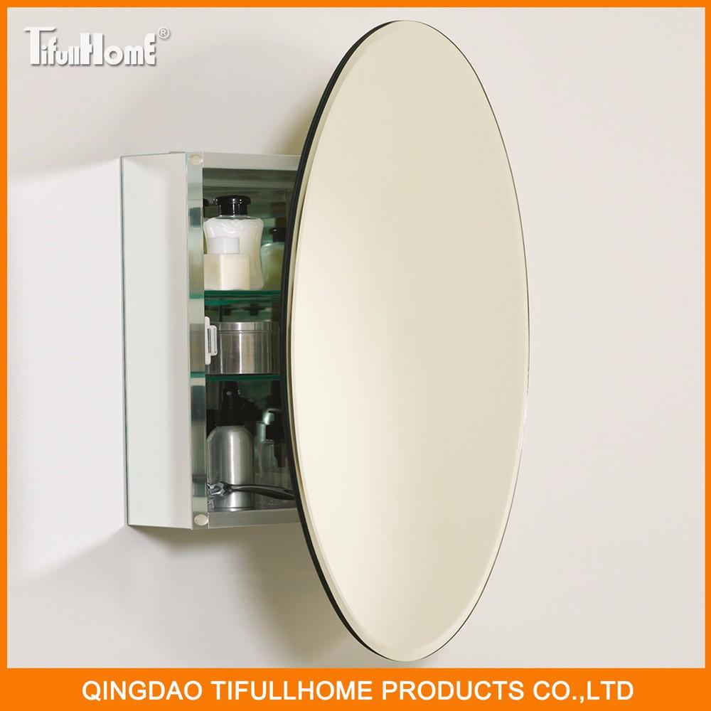 Popular Style Oval Shape Waterproof Bathroom Mirror Cabinet Buy Mirror Cabinet Popular Style: oval bathroom mirror cabinet