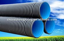Dewatering double wall corrugated pipe