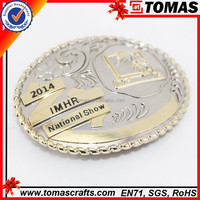 wholesale cheap custom italian belt buckle in alloy metal