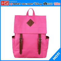 factory wholesale 600D fabric bag cotton cloth backpack, high quality backpack for girl
