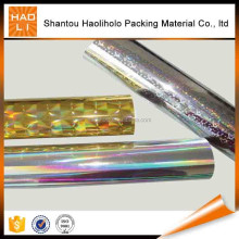 competitive price BOPP transparent holographic lamination film