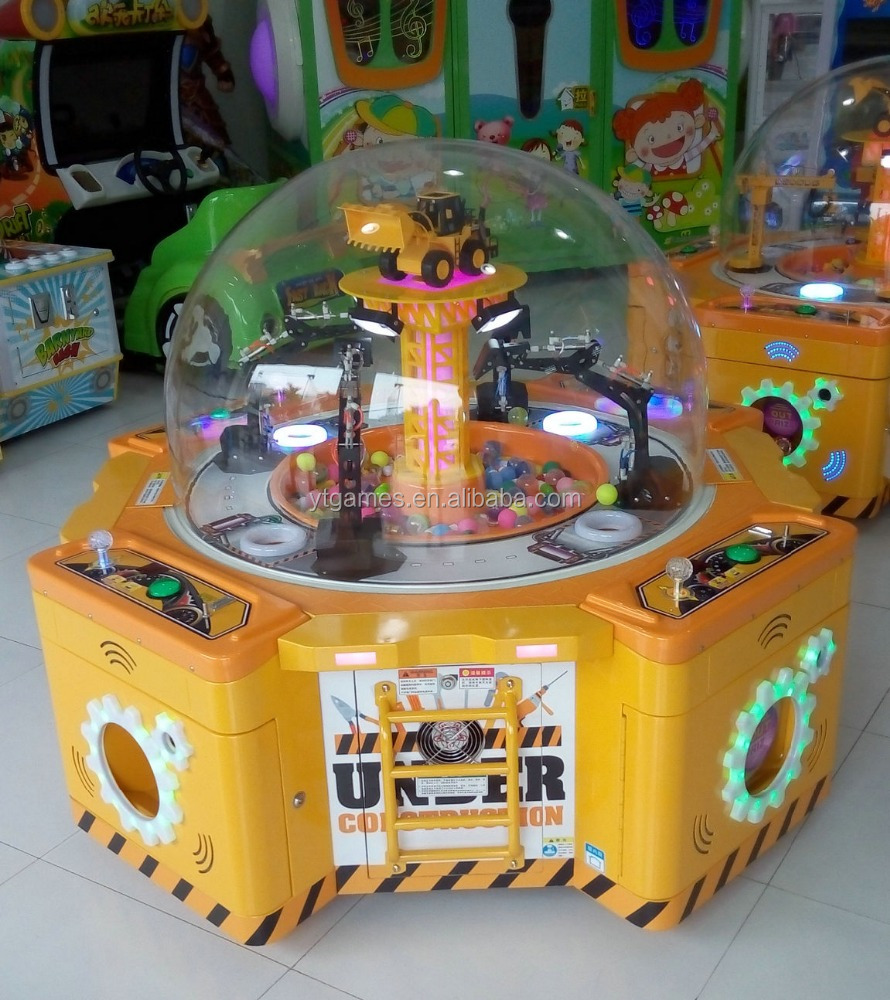 prize vending machine coin operated games dig win game machine