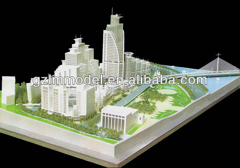 Peace Square constrution scale model making/ advanced scale models / custom-made scale model making